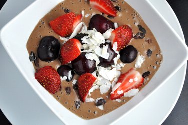Egészséges Csokoládéfagylalt (Gluténmentes, Cukormentes)
