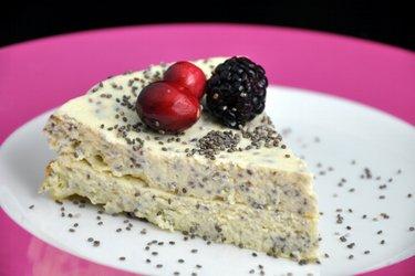 Cottage Cheese Sütemény Mákkal vagy Chia Maggal (Gluténmentes)