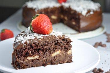 """Egészséges Csokoládés Fitness Torta """"Csokimámor"""""""