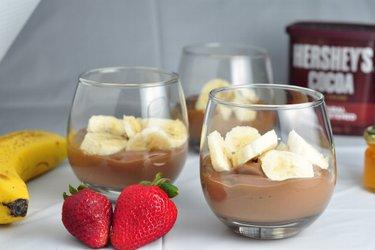 Egészséges Csokis-Banános Puding