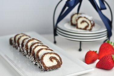 Egészséges, sütés nélküli kókusztekercs