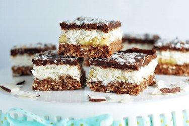 Sütés Nélküli Kókuszos Csokis Desszert