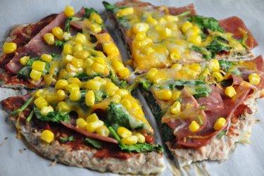 Fitness Tonhalas Pizza Tészta