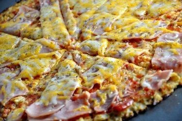 Egészséges Karfiol Pizza