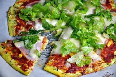 Egészséges Cukkinis Pizzatészta