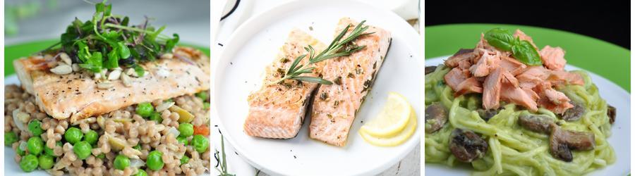 Egészséges Lazac Saláta Receptek
