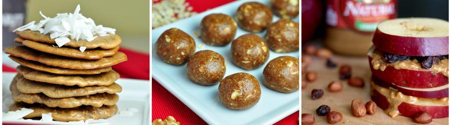 Egészséges Mogyoróvajas Snack Receptek