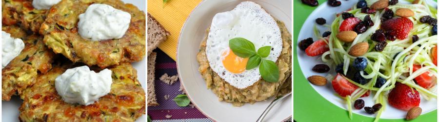 Alacsony Kalóriatartalmú, Fogyókúrás Cukkini Receptek