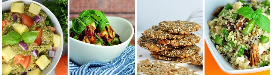 Egészséges Vegán Quinoa Receptek