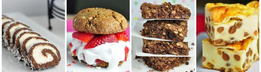 Egészséges Desszertek és Torta Receptek