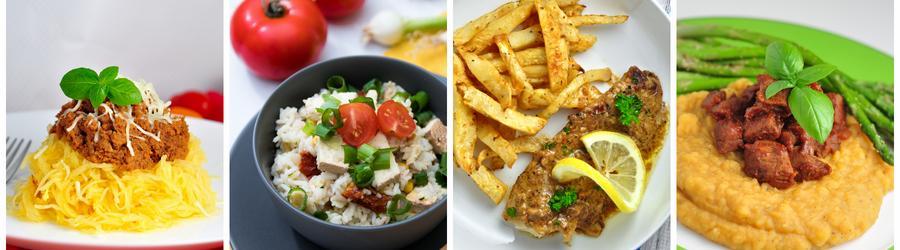 Egészséges Gluténmentes Vacsora és Ebéd Receptek