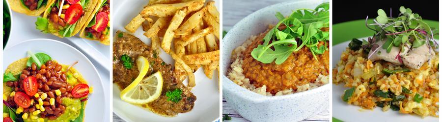 Egészséges Tejmentes Vacsora és Ebéd Receptek
