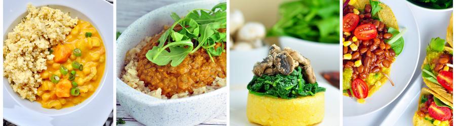 Egészséges Vegán Vacsora és Ebéd Receptek