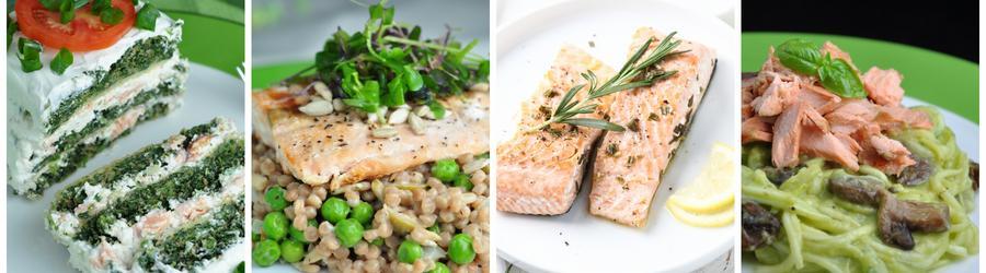 Egészséges Vacsora és Ebéd Receptek Lazaccal