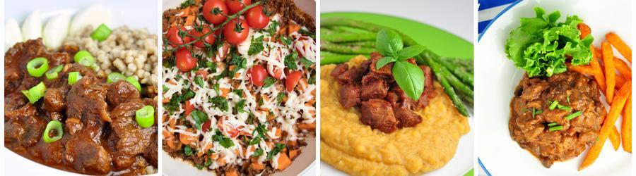 Egészséges Vacsora és Ebéd Receptek Marhából