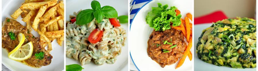 Magas Proteintartalmú Vacsora és Ebéd Receptek