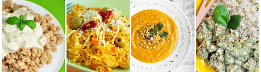 Alacsony Zsírtartalmú Vacsora és Ebéd Receptek