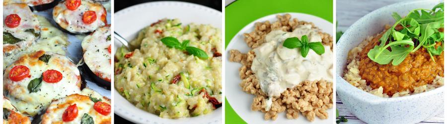 Egészséges Vegetáriánus Vacsora és Ebéd receptek - húsmentes