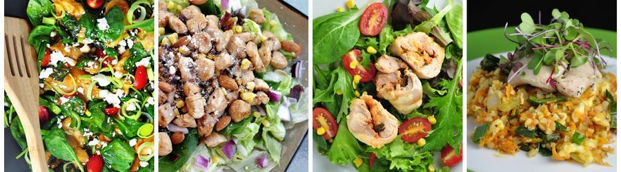 Egészséges Csirke Saláta Receptek