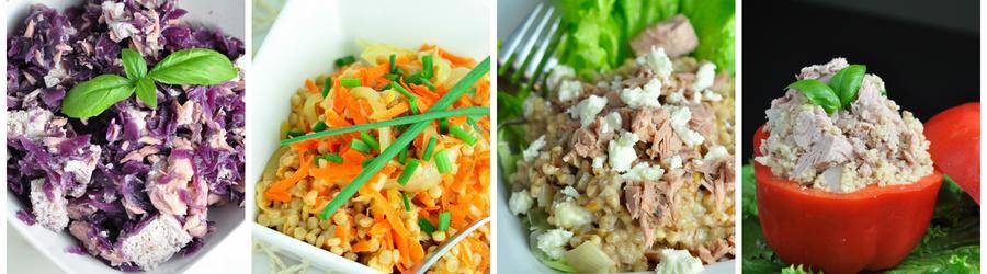 Egészséges Tonhalas Saláta Receptek